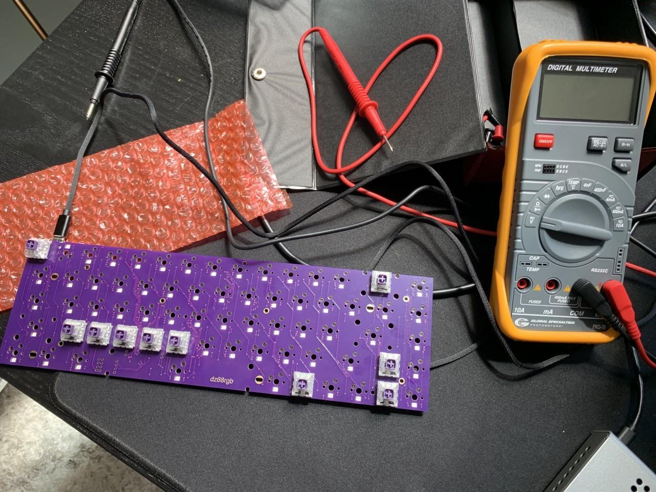 Multimeter for testing