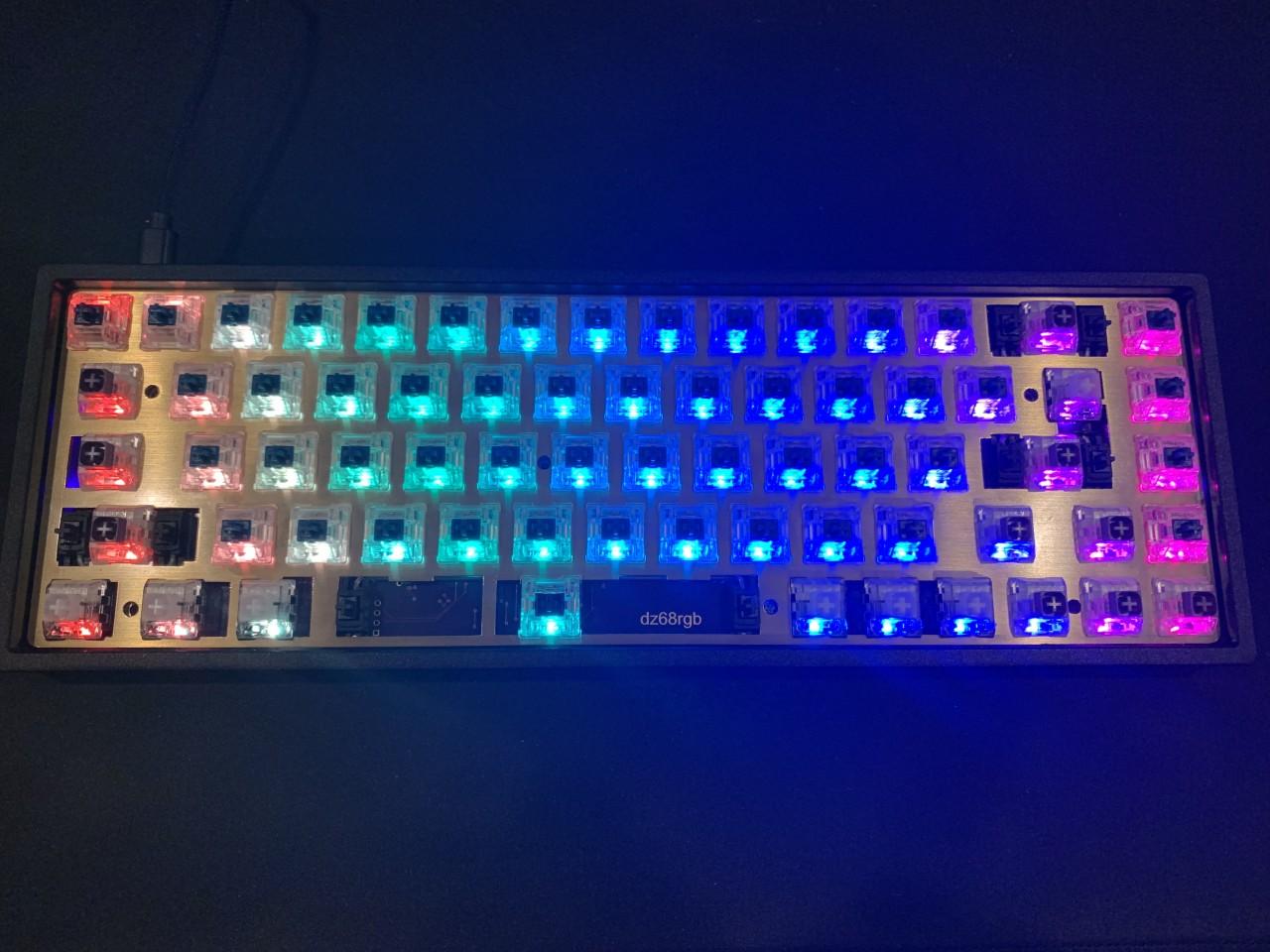 RGB LEDs working