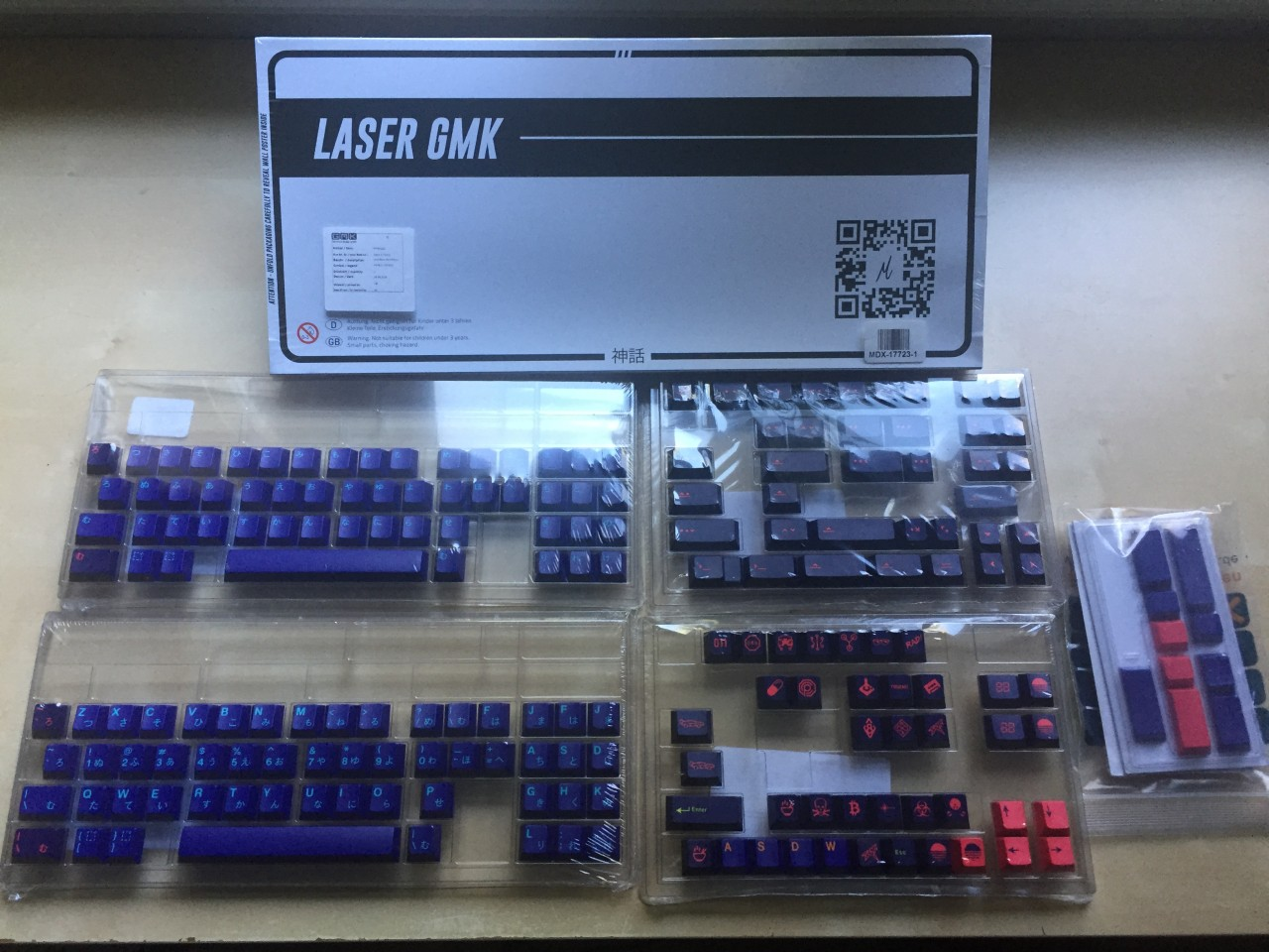...And try not to acquire more keycaps than you have keyboards