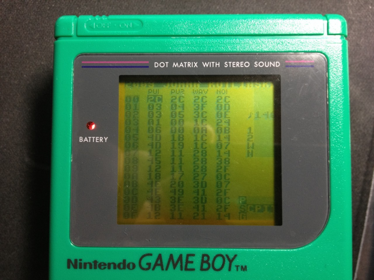Gameboy Backlight